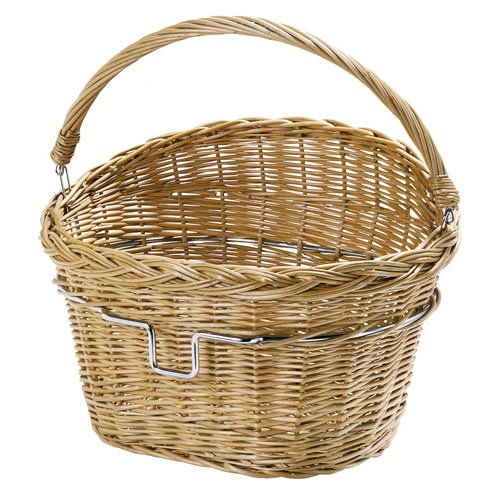 "Rixen & Kaul – KLICKfix ""Wicker"" Bicycle Basket (B0044PQRZ4)"