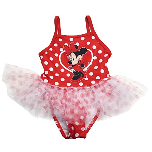 Disney Minnie Mouse Toddler Girls Tutu Swimsuit
