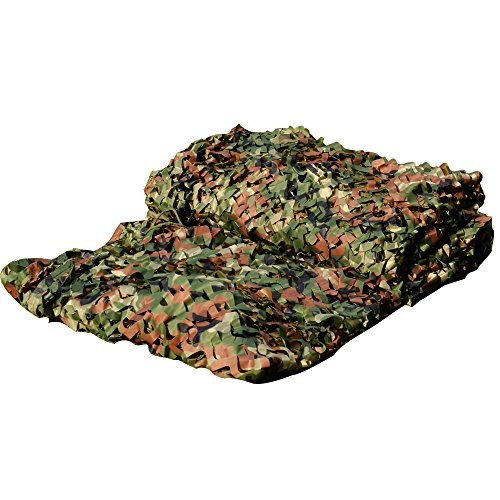 Cheapest Prices! LOOGU Custom Woodland Camo Netting Camping Military Hunting Camouflage Net
