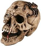 Halloween Skull with Fangs Prop