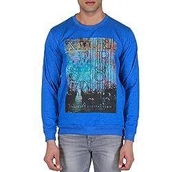 KILLER Men's Cotton Blue Sweatshirt_M