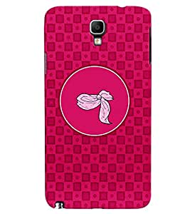 PRINTVISA Abstract Pink Pattern Case Cover for Samsung Galaxy Note 3 Neo