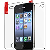 eForCity 6 x Front & Back Anti-Glare Screen Protector Compatible With Apple® iPhone® 4 iPhone® 4S AT&T, Sprint, Version 16GB 32GB 64GB