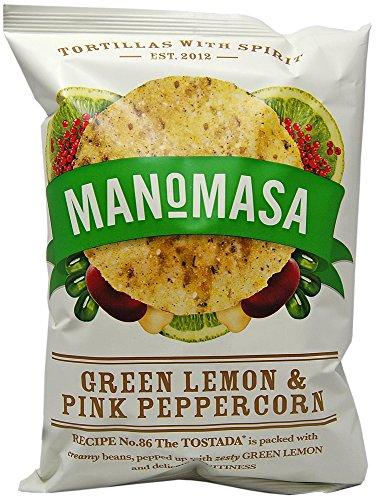 Tortillas Green Lemon & Pink Peppercorn