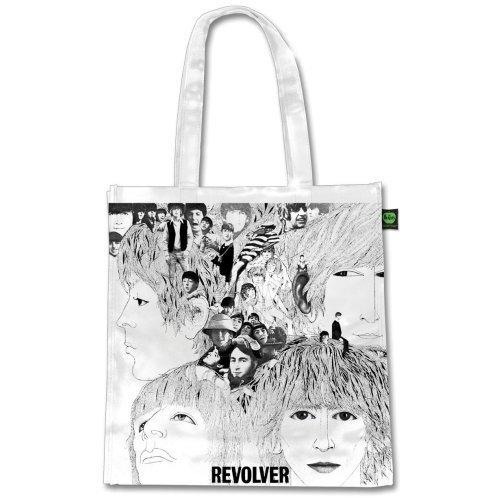 【ロンドン直輸入オフィシャルグッズ】ビートルズ エコバッグ(マチ付) The Beatles Eco Shopper: Revolver