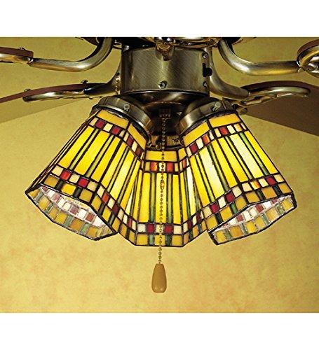 Wholesale 4 Inch W Prairie Corn Fan Light Shade Ceiling Fixture, [Lighting, Ceiling]