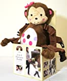 child of mine 2 in 1 Harness Buddy Monkey PINK EDITION