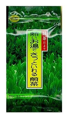 寿老園 緑茶だより 熱いお湯でさっといれる煎茶 200g