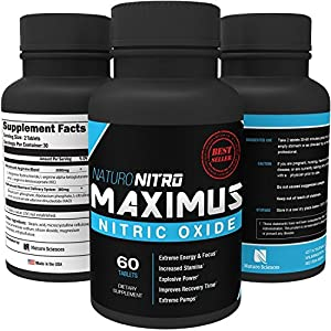 Maximus Nitric Oxide Tablets