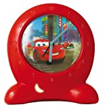Disney Cars Go Glow Clock Bedtime Trainer