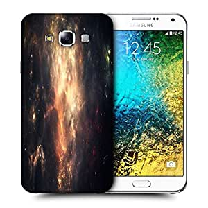 Snoogg Abstract Galaxy Printed Protective Phone Back Case Cover ForSamsung Galaxy E7