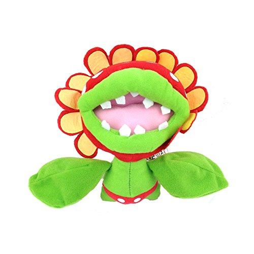 "Generic Petey Piranha Super Mario Bros Character Boss Flower Plush Toy Stuffed Animal Soft Figure Doll 6"""