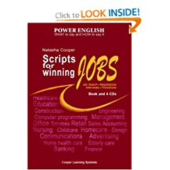 Scripts for Winning Jobs.: Book and 4 CDs. Power English Series.