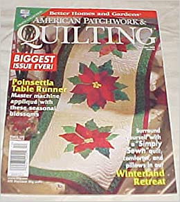 American Patchwork Quilting December 1999 Issue 41