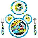 Disney Baby Mickey Mouse 4-Piece Feeding Set