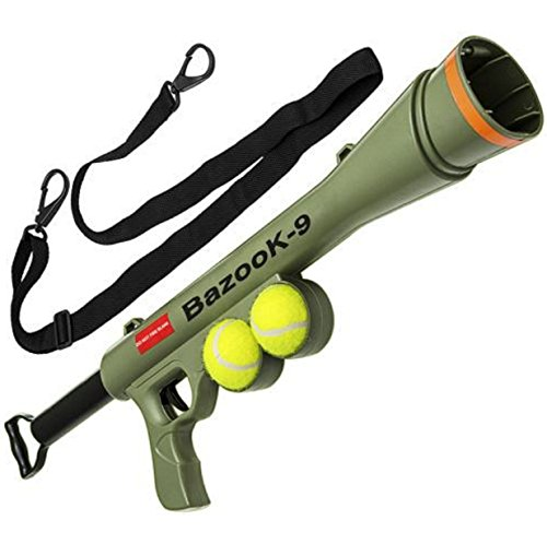 Dog Launcher Ball Tennis Automatic Pet Fetch Toy Training Throw Play Outdoor (Hot Dog Cannon compare prices)