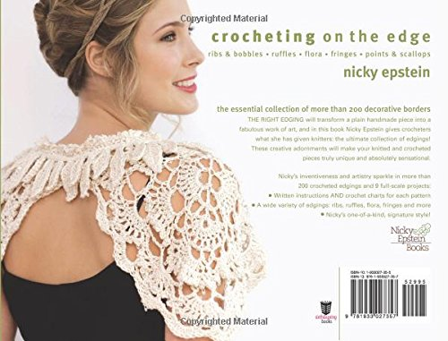 Crocheting on the Edge: Ribs & Bobbles*Ruffles*Flora*Fringes*Points ...
