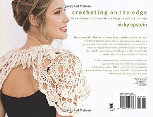 Crocheting On The Edge : Crocheting on the Edge: Ribs & Bobbles*Ruffles*Flora*Fringes*Points ...
