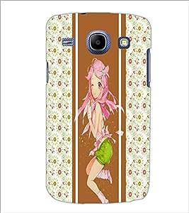 PrintDhaba Cute Girl D-2777 Back Case Cover for SAMSUNG GALAXY MEGA 5.8 (Multi-Coloured)