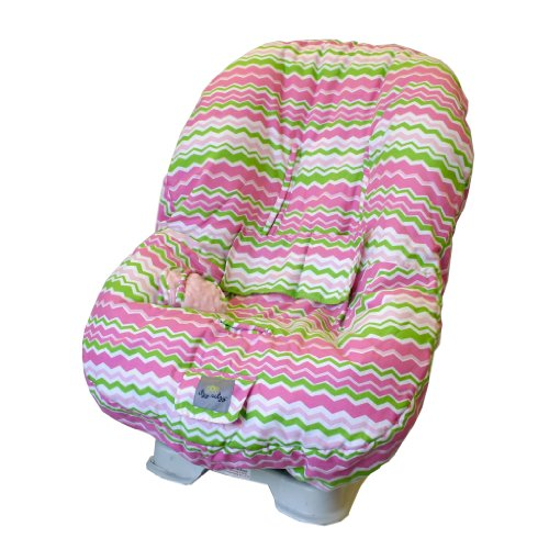Itzy Ritzy Toddler Car Seat Cover, Little Miss Zig Zag