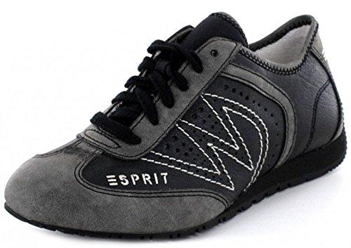 Esprit International Damen Sneaker in schwarz mit Keilabsatz , Schuhgröße:EUR 38
