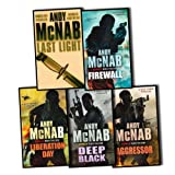 Nick Stone Thriller Collection Andy McNab 5 Books Set (Aggressor, Liberation Day, Last Light, Firewall, Deep Black) (Nick Stone Thriller Collection) Andy McNab