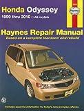 Honda Odyssey 1999 thru 2010 (Haynes Repair Manual)