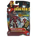 Iron Man 2 Comic Series 4 Inch Action Figure #32 Advanced Armor Iron Man Reborn