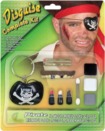 Seasons - Pirate Makeup Kit (Adult)