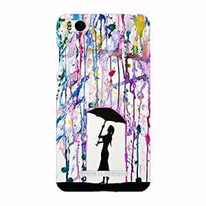 Back cover for Xiaomi Mi4i Colour Rain