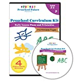 The Ultimate Preschool Curriculum Kit - Workbooks and Lesson Plans - 400 Unique Daily Lesson Plans, Learning Activities and Printables for Preschoolers, Pre K Kids and Toddlers (Ages 3 - 5) - Perfect for Daycare and Homeschool Use