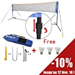 SoBuy SFN03 L500cm Filet de Badminton...