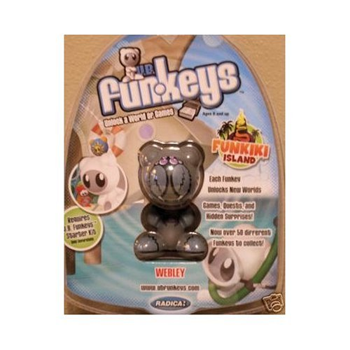 Buy Low Price Mattel U.B. Funkeys Funkiki Islands Figure Webley Gray (B001GXRB20)