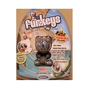 U.B. Funkeys Funkiki Islands Figure Webley Gray