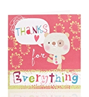 Fun Character Thank You Card