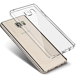 Galaxy S7 Plus Case, Brila® Galaxy S7 Plus Clear Case, with [Dust Plug] and [Camera Protection], Slim Soft Tpu Bumper Case for Samsung Galaxy S7 Plus