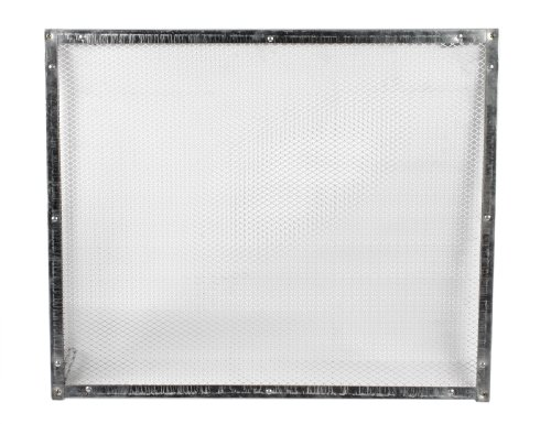 Camco 43980 RV Aluminum Screen Door Standard Grille image