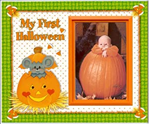 My First Halloween - Picture Frame Gift by Expressly Yours!