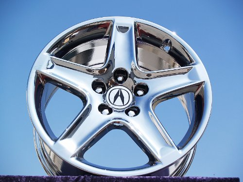 Acura TL: Set of 4 genuine factory 17inch chrome