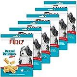 Fido Dental Delicious Mini Bâtonnets à mâcher pour chien 130 g - Lot de 6