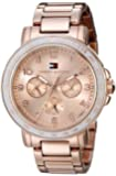 Tommy Hilfiger Women's 1781513 Sophisticated Sport Rose Gold-Tone Watch