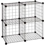 Organize It All Wire Cube, Black
