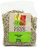 Mintons Good Food Pre-Packed Sunflower Seed Kernels 250 g (Pack of 10)
