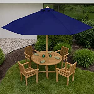 Cantilever 9 Foot Market Umbrella Teak - ShopWiki