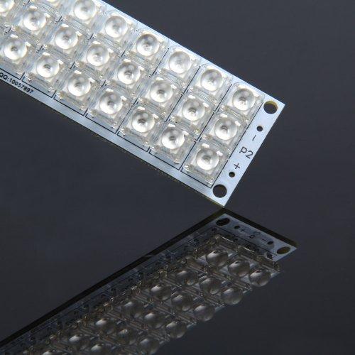 Ecoolbuy Super Bright 4 Light Color 12V 42 Led Piranha Panel Board Lamp Lighting (Red)