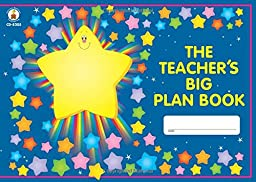 Carson Dellosa The Teacher\'s Big Plan Book Record/Plan Book (8205)