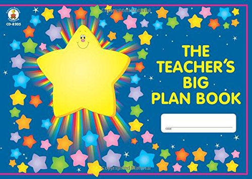 Carson Dellosa The Teacher's Big Plan Book Record/Plan Book (8205) - 1