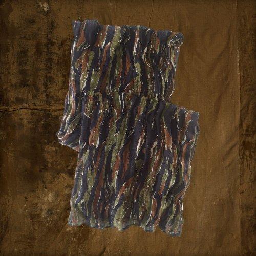 (デニム&サプライ ラルフローレン)Denim&Supply Ralph Lauren スカーフ Camouflage Linen Scarf 迷彩 並行輸入品