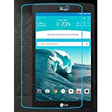 KIQ Premium Tempered Glass Screen Protector For LG Gpad G Pad X8.3 inch VK815 [Real GLASS, 9H Hardness, Anti-Scratch, Bubble-Free, Self-Adhering, Easy installation, 0.30mm Thickness] (Tamaño: LG GPAD X 8.3-inch VK815)