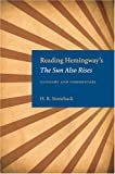 Reading Hemingway's the Sun Also Rises: Glossary and Commentary